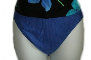 COLE of CALIFORNIA Blue Bikini Bottoms - Size 16