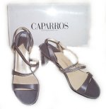 CAPARROS Smoke Silk KATE Dress Shoes - Size 9.5