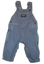 OSH KOSH BGOSH Classic Engineer Denim Overalls -Boys 24 mos