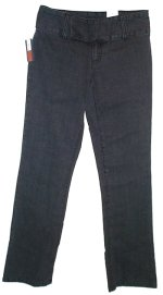 TOMMY HILFIGER Charcoal Low Rise Stretch Pants Jeans - Size 2