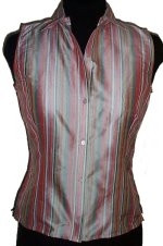 JONES NEW YORK SILK Sleeveless Blouse -PS