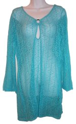 LADY HATHAWAY Lace Beach Cover-Up