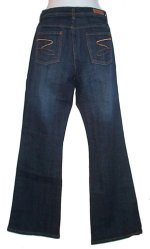 SEVEN Premium Denim Dark Indigo Flared Jeans
