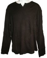 NY BASICS Knit Long Sleeve Top - Mens Large