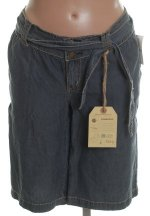 HYDRAULIC Blue Lightweight Bermuda Shorts - 5/6
