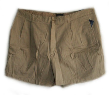 CHARTER CLUB Wrinkle Resistant Pleated Shorts - Men's 42