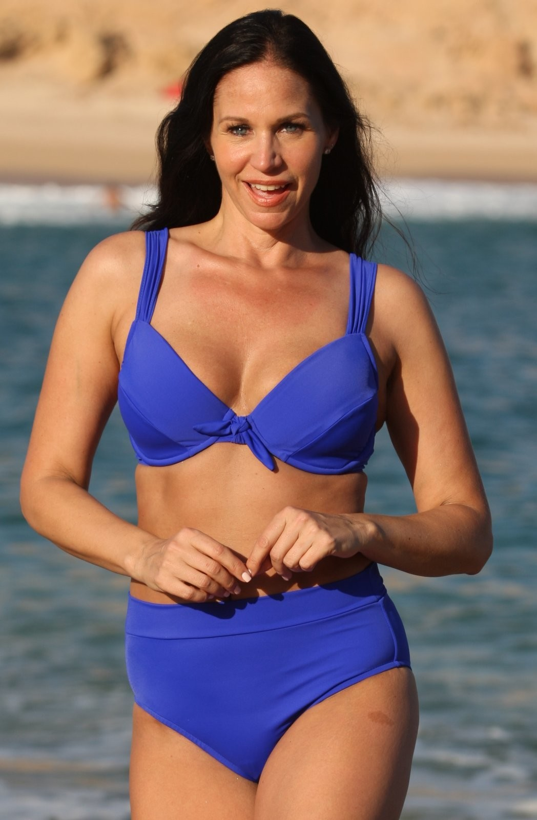 Ujena REGAN Blue Full Coverage Underwire Bikini