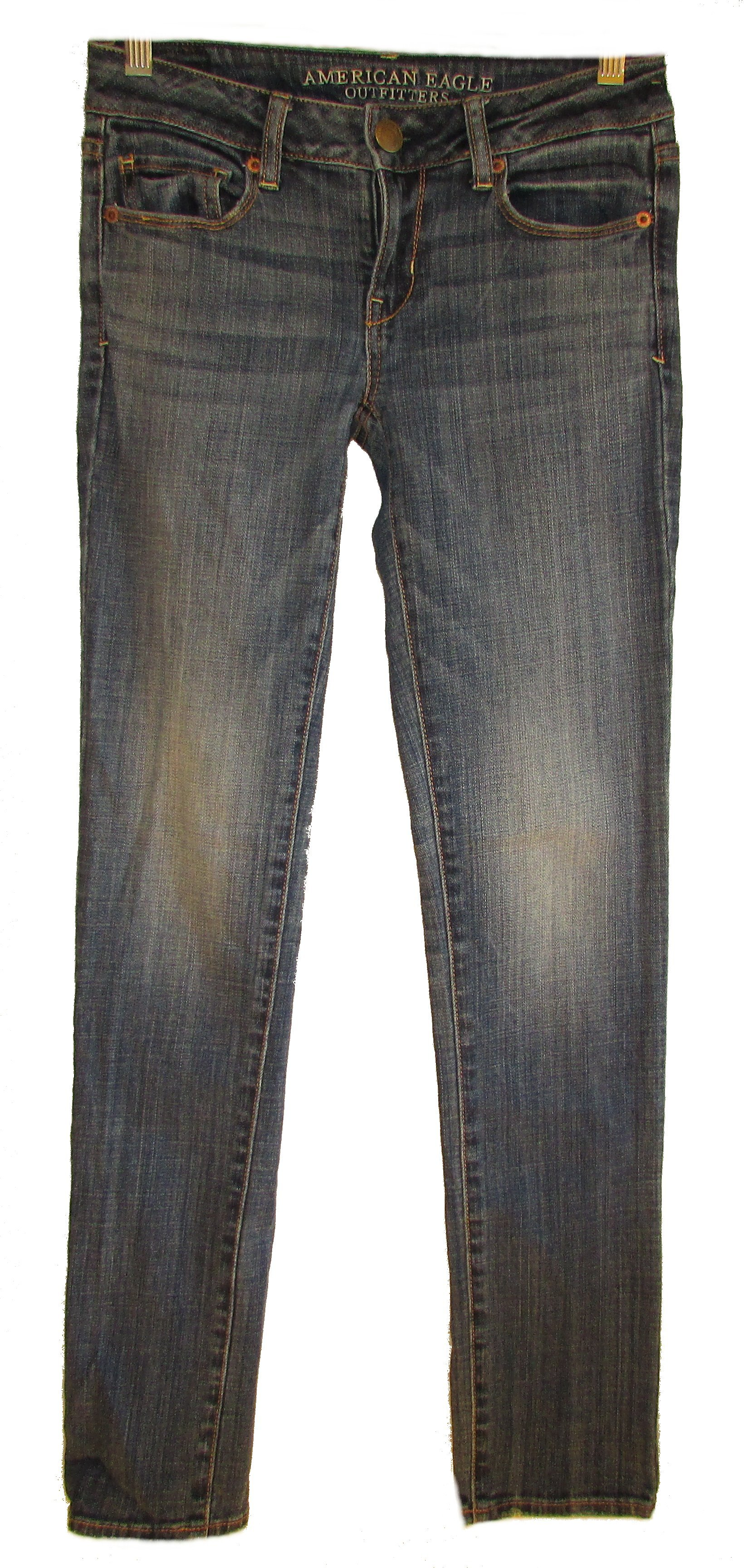 AMERICAN EAGLE OUTFITTERS Skinny Stretch Jeans - 0
