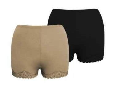 MARILYN MUNROE Bodyshaper Boyshorts Panty Briefs - NUDE,SMALL
