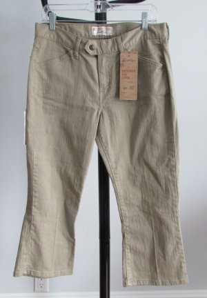 LEVIS Low Rise Stretch Tan Capris Pants - 10