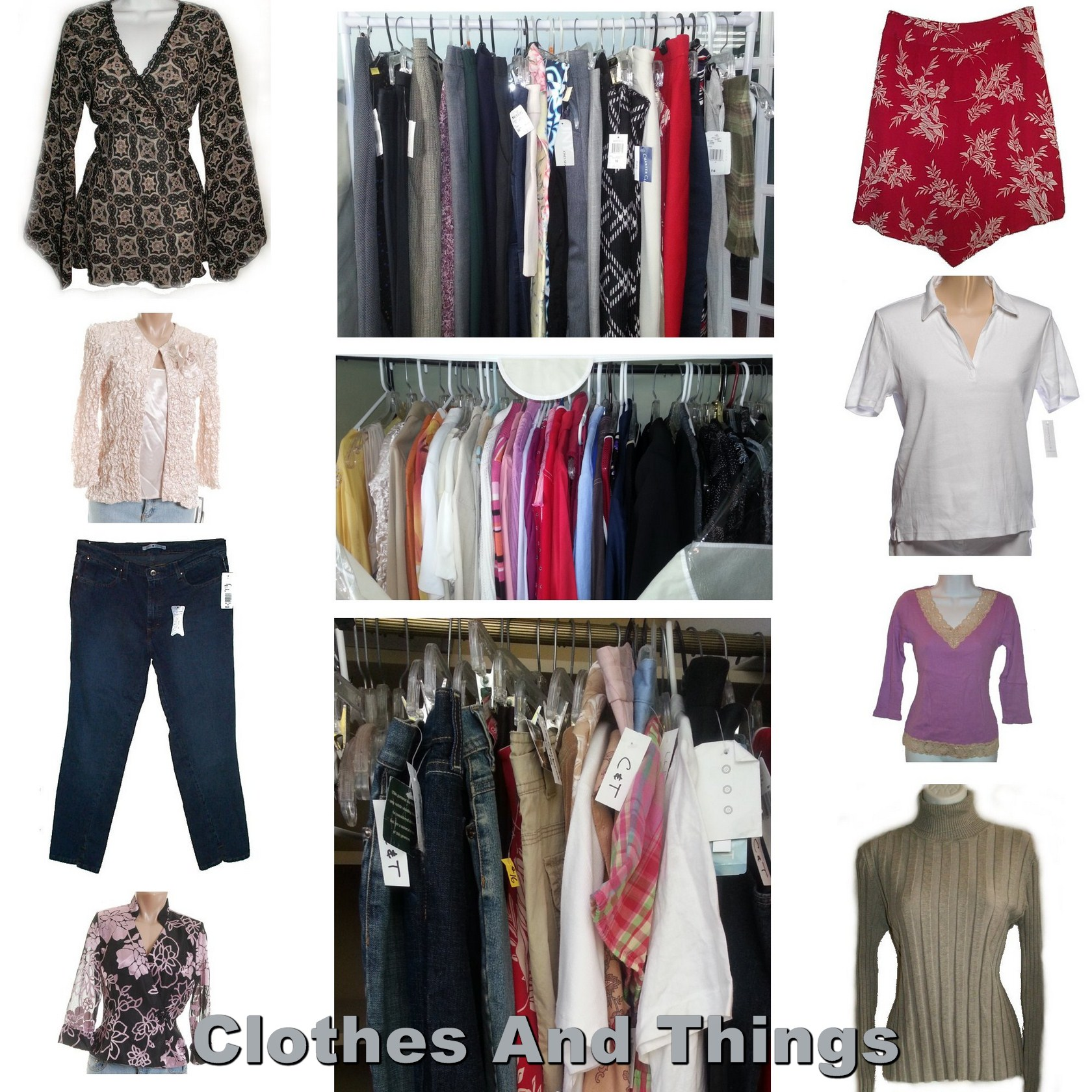 Wholesale Brand Name Designer Mixed Clothing Lot - 5 Pieces