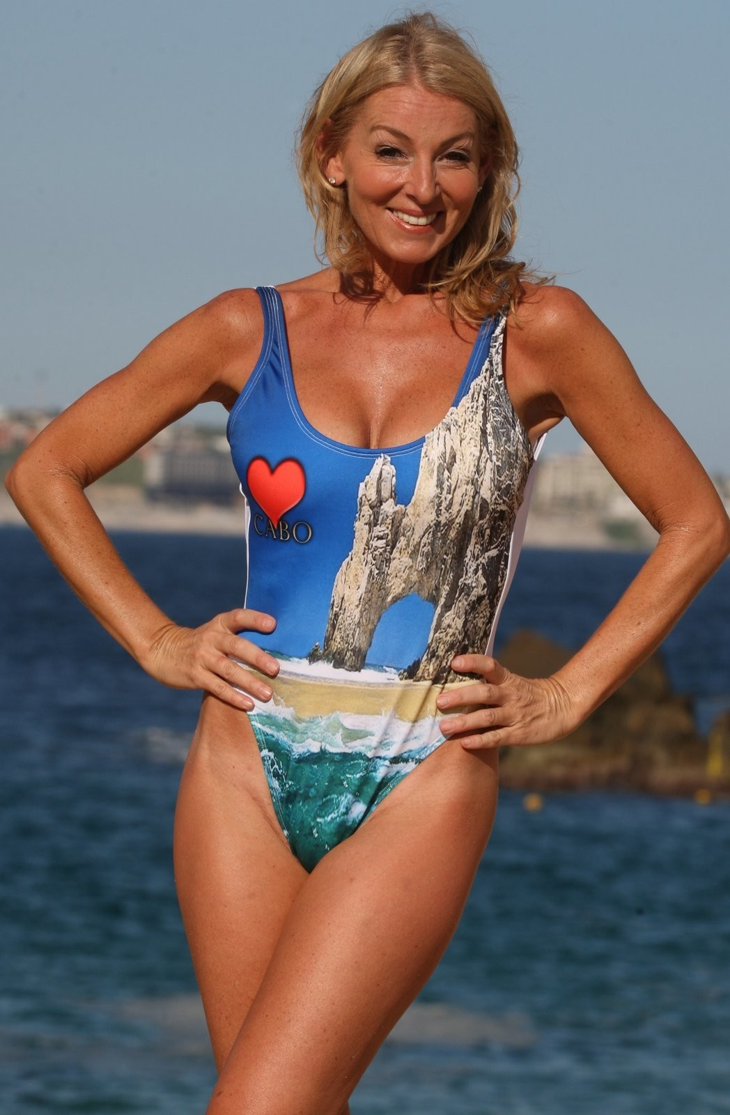 Ujena CABO LOVE 1 Pc Photo Print Swimsuit